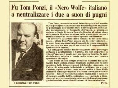 Tom Ponzi e la vicenda di Terrazzano