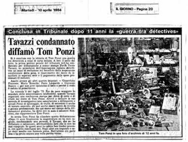 Il Giorno - 10 aprile 1984
