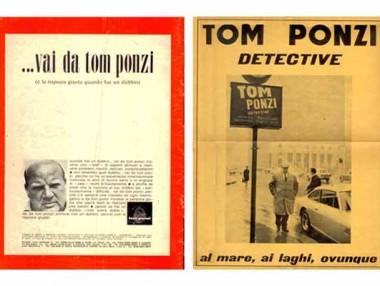Pubblicità Tom Ponzi